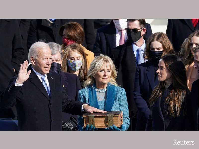 Biden's inauguration speech calls for unity